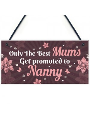 Mum Promoted To Nanny Mothers Day Gifts Nanny To Be Gifts
