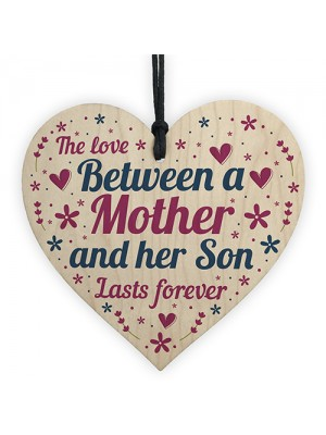 Mum Gifts Mothers Day Birthday Gifts From Son Wood Heart Sign