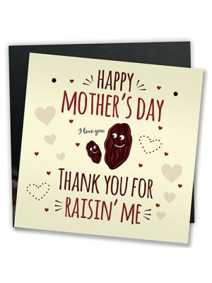 Funny Mothers Day Greetings Card Plaque Joke Gift For Mum