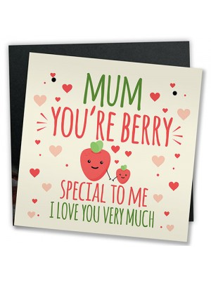 Funny Mother's Day Card Mother's Day Gift Mum Birthday Card Pun