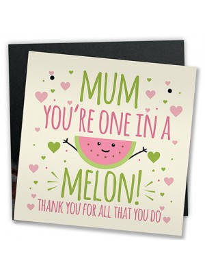 Pun Funny Mother's Day Greetings Card Joke Mother's Day Gift