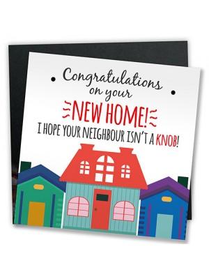New Home Card Funny Congratulations Card Friendship Gift Joke