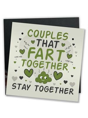Funny Boyfriend Girlfriend Birthday ANNIVERSARY Card Gifts