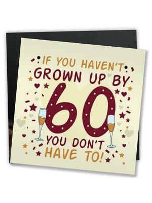 Funny 60th Birthday Card 60th Birthday Presents For Women / Men