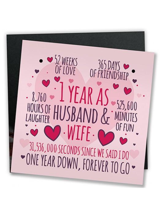 1st Wedding Anniversary Gifts First Wedding Anniversary Presents