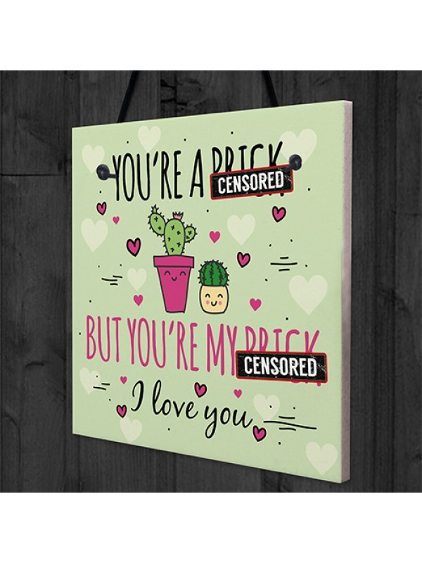 Funny Anniversary Valentines Card Gift For Boyfriend Husband