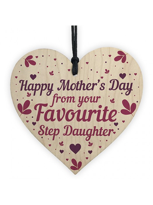 Funny Mothers Day Card Mothers Day Gift From Step Daughter Gifts