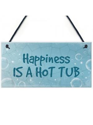 Funny Hot Tub Sign Hanging Plaque Hot Tub Decor Garden Sign