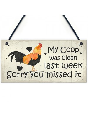 Chicken Sign Hanging Sign Pet Sign Coop Sign Chicken Accessories