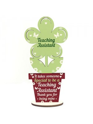 Gifts For Teaching Assistant Wooden Flower Thank You Gifts