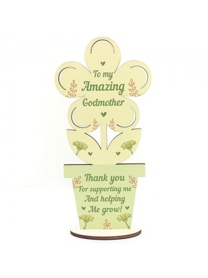Amazing Godmother Birthday Christmas Gift Thank You Gifts Flower