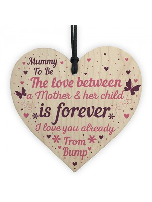 Mummy To Be Hanging Gift Sign New Mummy Love Bump Gifts