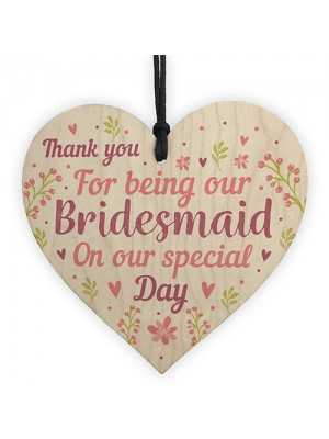 Thank You Wedding Gift Bridesmaid Gifts From Bride Groom