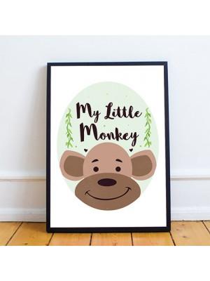 Nursery Print Framed Nursery Decoration Animal Print For Nursery