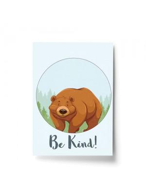 Bear Animal Prints For Nursery / Wall Art For Baby Room Nursery