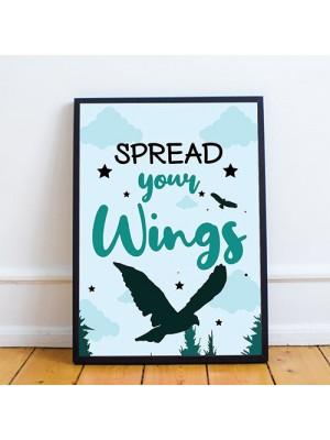 Nursery / Bedroom Wall Art Framed Prints / Nursery Decorations