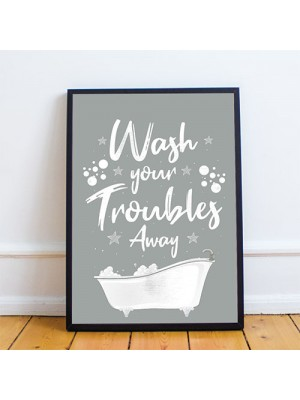 Bathroom Prints Framed Bathroom Prints Funny Home Decor Gift