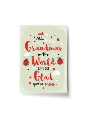 Grandma Gifts Birthday Gift For Grandma From Granddaughter Son