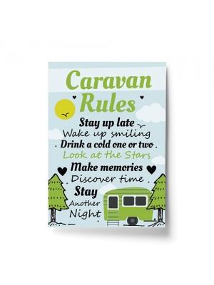 Caravan Rules Print Caravan Accessories Caravan Gift Home Decor