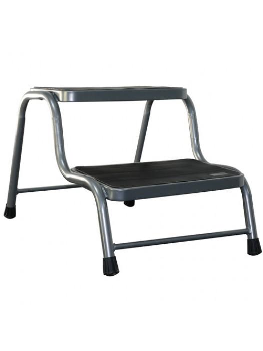 Double Caravan Step Steel Non Slip Motorhome Aid