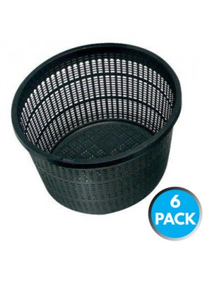 6 x Bermuda Aquatic Baskets Pond Plant Mesh Container Tub 13x10