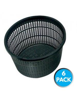 6 x Bermuda Aquatic Baskets Pond Plant Mesh Container Tub 13x10