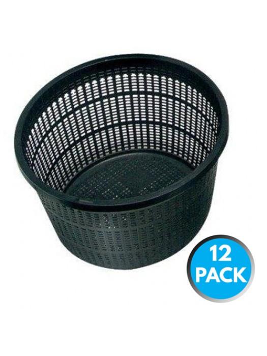 12 x Bermuda Aquatic Baskets Pond Plant Mesh Container Tub 13x10