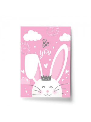 Little Girls Bedroom Accessories Bunny Nursery Print For Girl