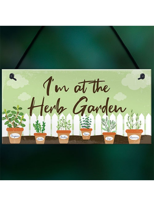 Novelty Garden Signs And Plaques Herb Garden Sign Shed Sign