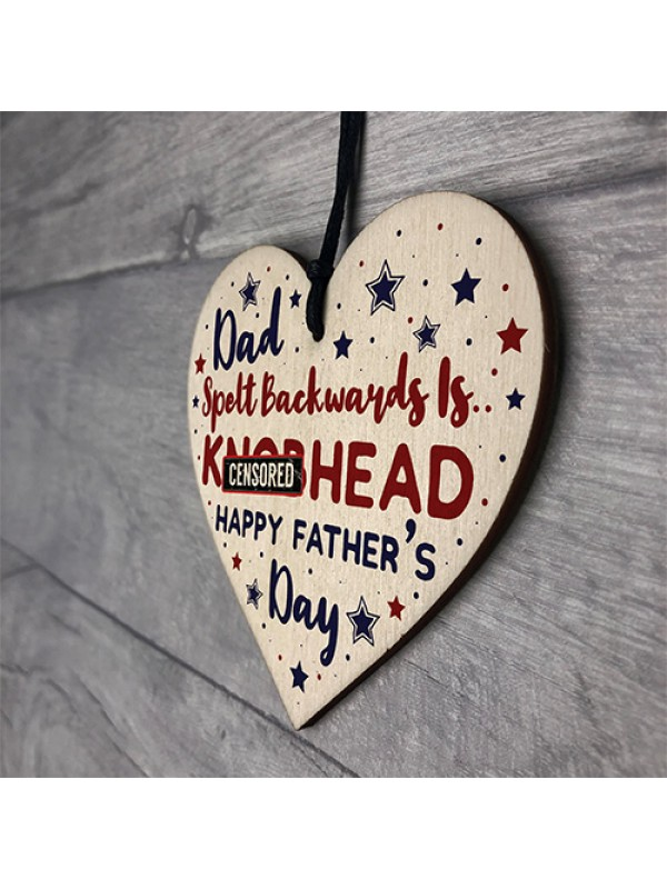 Novelty Fathers Day Gift Rude Gift For Dad From Son Daughter