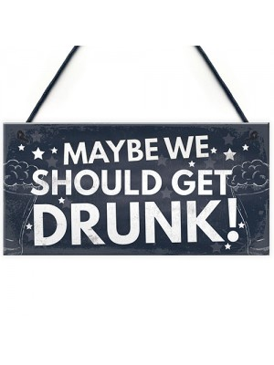 Funny Home Bar Sign For Garden Plaque Man Cave Sign Bar Pub Sign