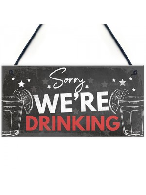 Novelty Bar Sign For Garden Funny Home Bar Sign Man Cave Sign