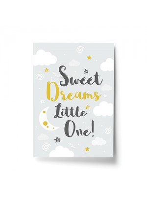 Sweet Dreams Baby Nursery Print Girls Nursery Decor Boys Nursery
