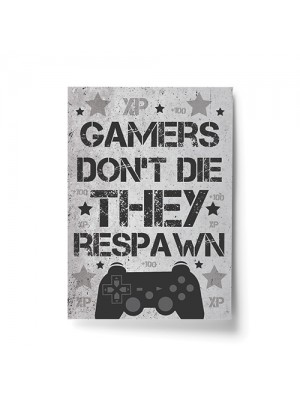 Grey Gaming Sign For Wall Gamer Gifts For Son Brother Dad