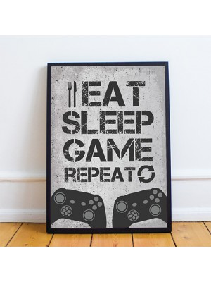 Son Dad Uncle Birthday Gift For Gamer Gaming Sign Gaming Print