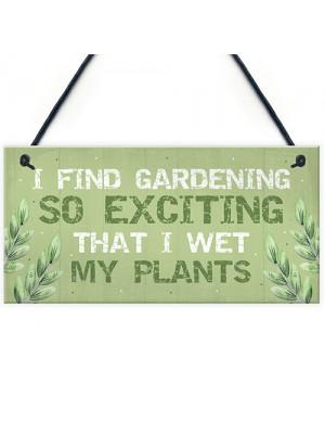 FUNNY Garden Sign Garden Plaque Summer House Sign Shed Plaque