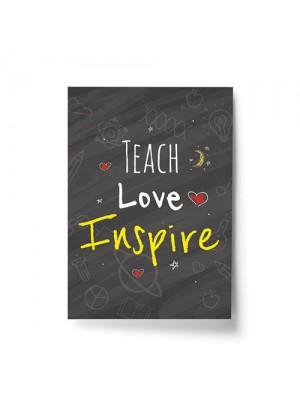 Teacher Quote Print Gift For Nursery Teacher Teaching Assistant