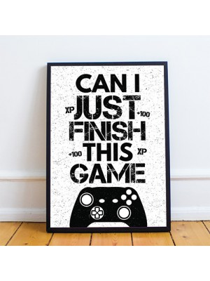 Gaming Print For Xbox Fan Boys Bedroom Decor Gift Gaming Gifts