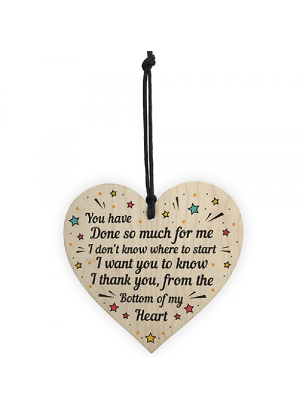 Thank You Gift For Teacher Teaching Assistant Volunteer Heart