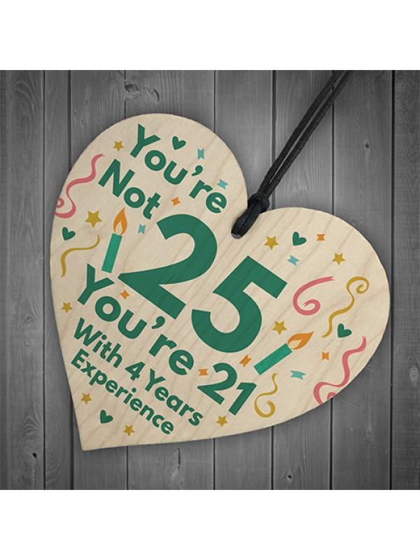 Funny Birthday Gift For Women Novelty 25th Birthday Gift For Men