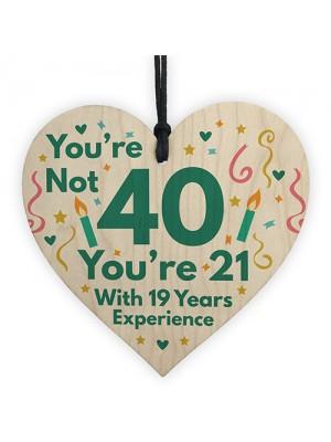 Funny Birthday Gift For Women Novelty 40th Birthday Gift For Men