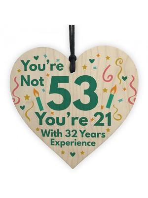 Funny Birthday Gift For Women Novelty 53rd Birthday Gift For Men