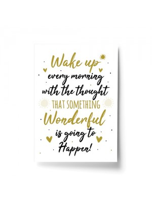 Inspirational Motivational Positive Quote Print Birthday Friends