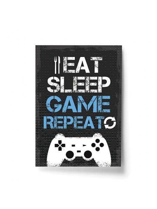 Funny Gamer Gift For Men Gaming Sign For Boys Bedroom Wall Art