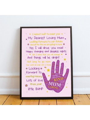 Mummy To Be Baby Shower Gifts From The Bump Baby Poem Gifts