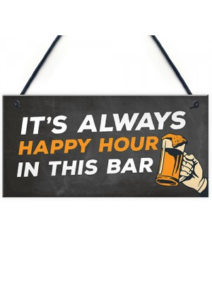 Home Bar Sign Man Cave Bar Pub Sign Garden Sign Alcohol Gift