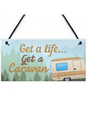 Funny Caravan Plaque Novelty Home Decor Gifts Camper Caravan
