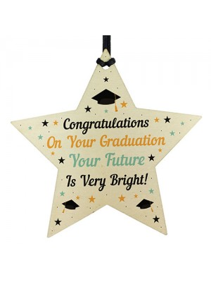Personalised Graduation Gift Wooden Star Gift For Daughter Son