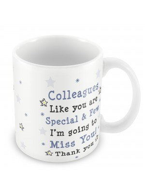 New Job Colleague Leaving Printed Mug Gift For Colleague Friend