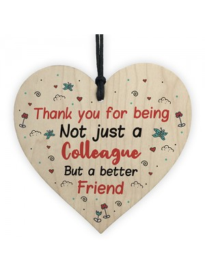 Thank You Colleague Gifts Birthday Christmas Colleague Plaques